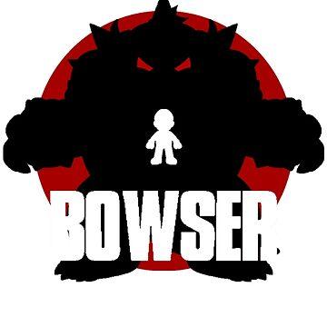 BOWSER (Godzilla) by CrumpetKing