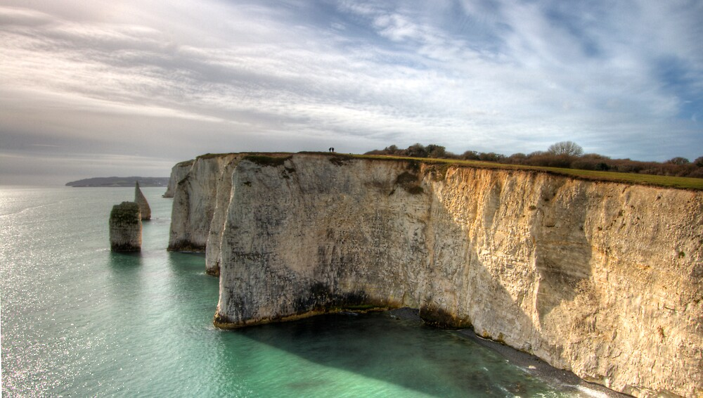 Swanage sea cliffs by igotmeacanon