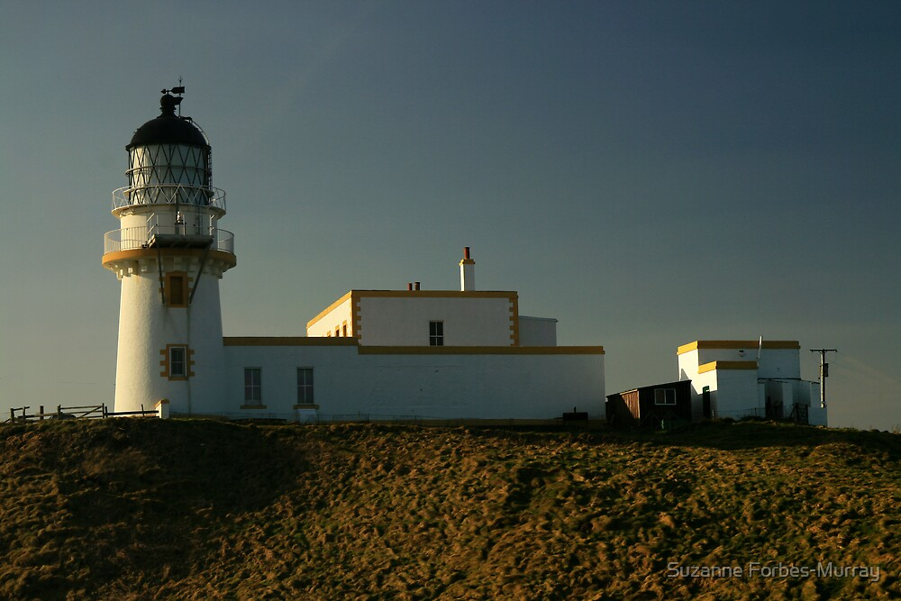 Todhead Lighthouse by Suzanne Forbes-Murray