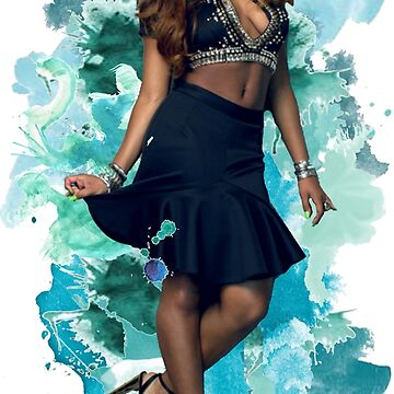 ¡Normani Kordei Blue Splash! de foreverbands