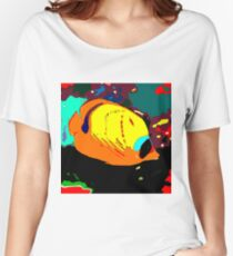 Raccoon Butterflyfish Women's Relaxed Fit T-Shirt