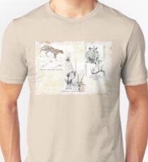Lodge décor - Wildlife Triptych T-Shirt