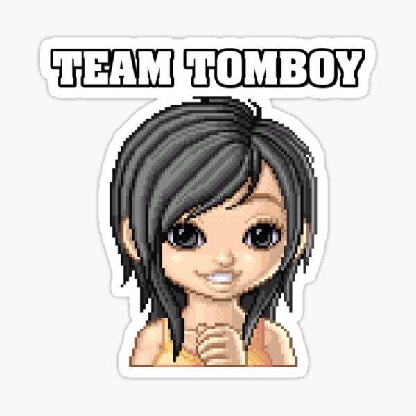 TEAM TOMBOY Sticker
