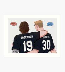 [Stucky] Together Since 1930 Art Print