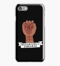 Brown Girls Zindabad Henna Fist (long live brown girls!) iPhone Case/Skin
