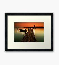 Zen VIII Framed Print