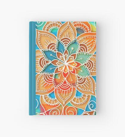 Celestial Blue Mandala Hardcover Journal