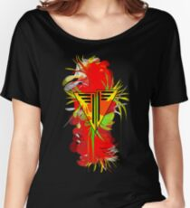 Abstract Complexity: Bloom (Alt Colours) Women's Relaxed Fit T-Shirt