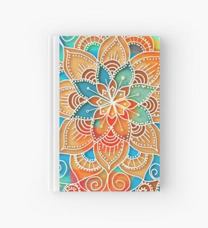 Cotton White Mandala Hardcover Journal
