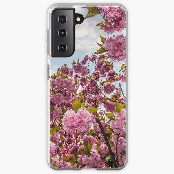 Sakura flower blossom in springtime Samsung Galaxy Soft Case