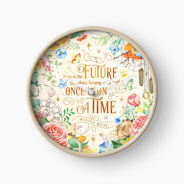 Once upon a time Clock