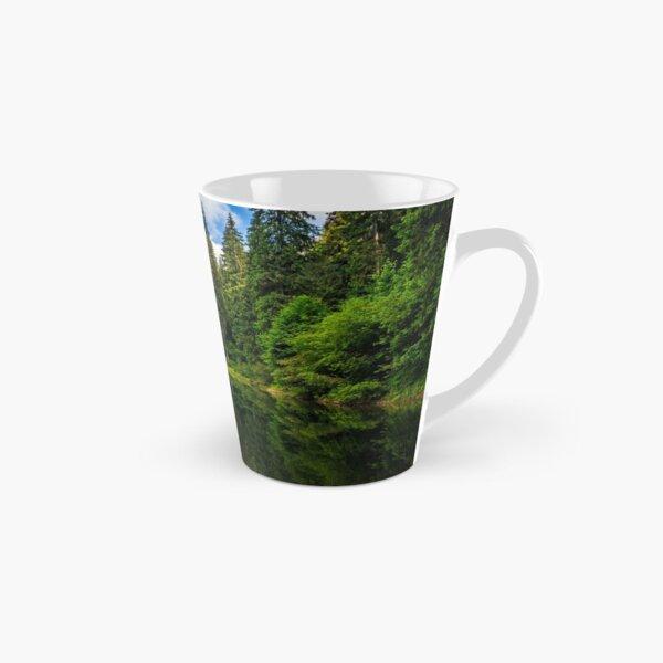mountain lake among the forest Tall Mug