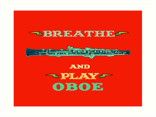 Breathe and Play Oboe by MissMusica
