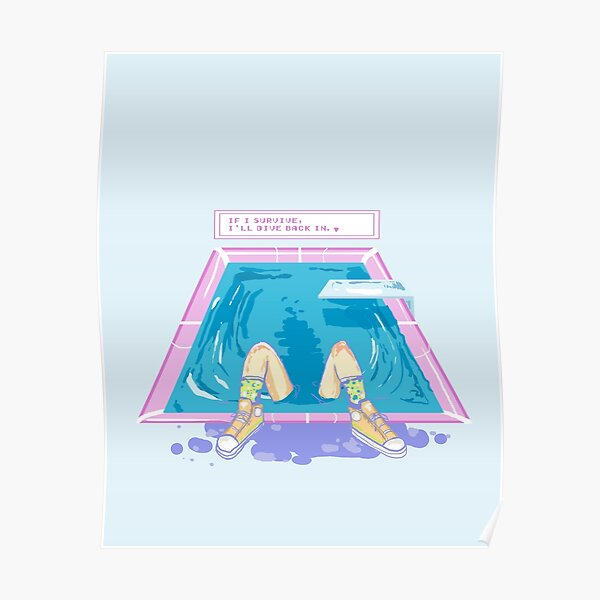 Pool - After Laughter Lyrics Poster