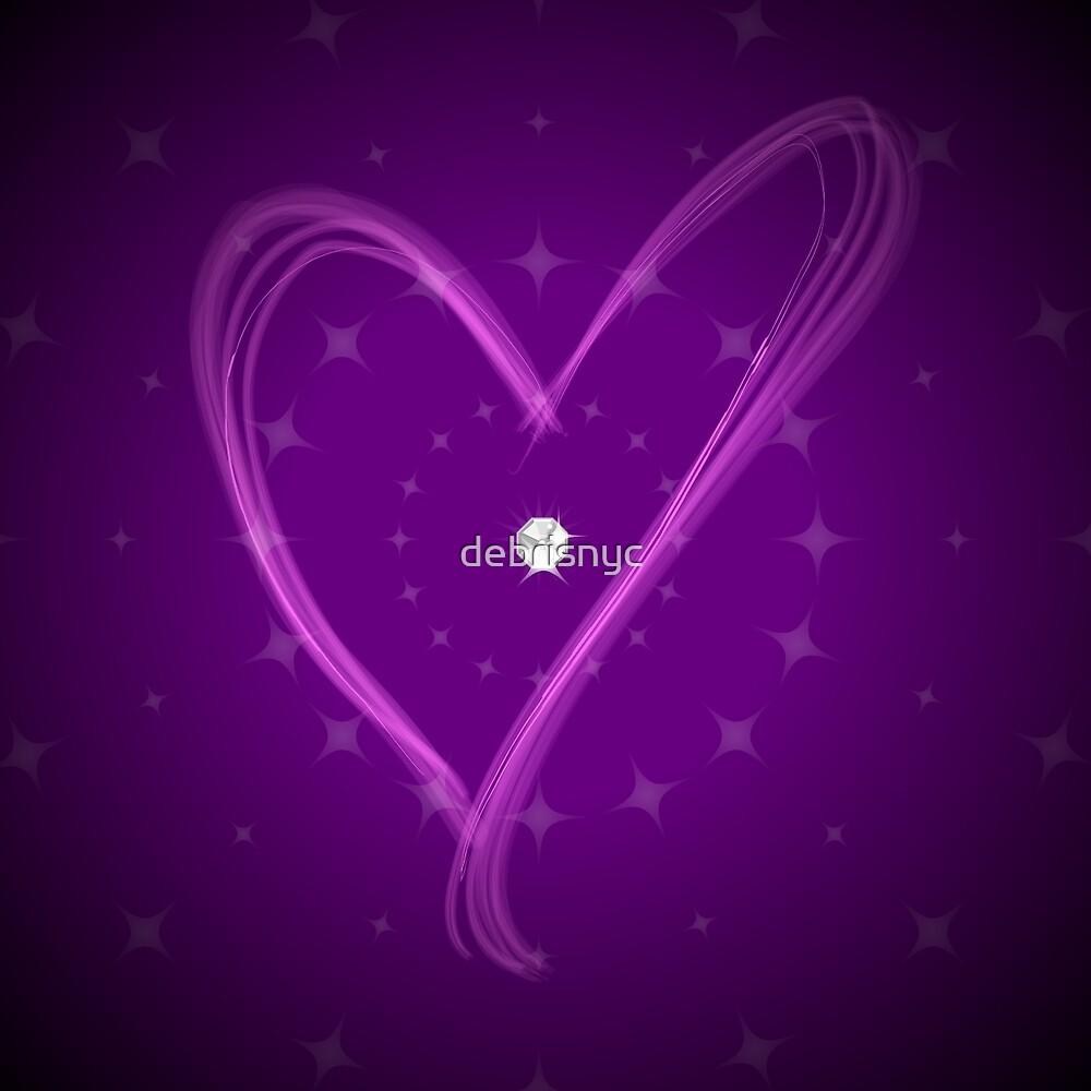 purple love by debrisnyc