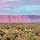 Pink Cliffs by Walter Colvin