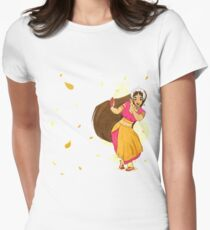 The Dancer - Gajra Womens Fitted T-Shirt