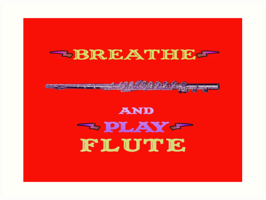 Breathe and Play Flute by MissMusica