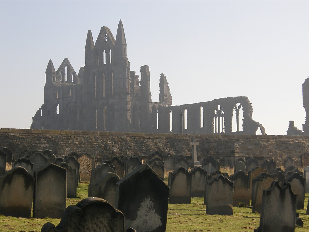 Whitby Abbey by CharcoalPoet