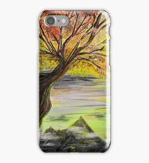 Over Looking Tree iPhone Case/Skin