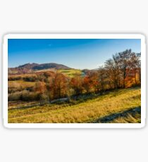 mountain rural area in late autumn Sticker