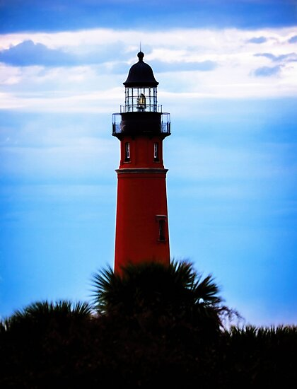 Ponce de Leon Lighthouse near Daytona Beach in Florida by Alaskandreamer