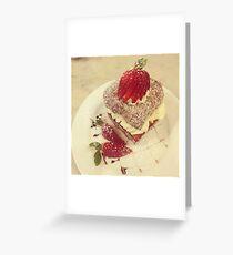 Sweet Lamington Greeting Card