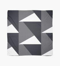 Grey geometric triangle Scarf