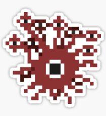 8-Bit Beholder Sticker
