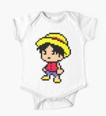 Luffy Pixel One Piece - Short Sleeve