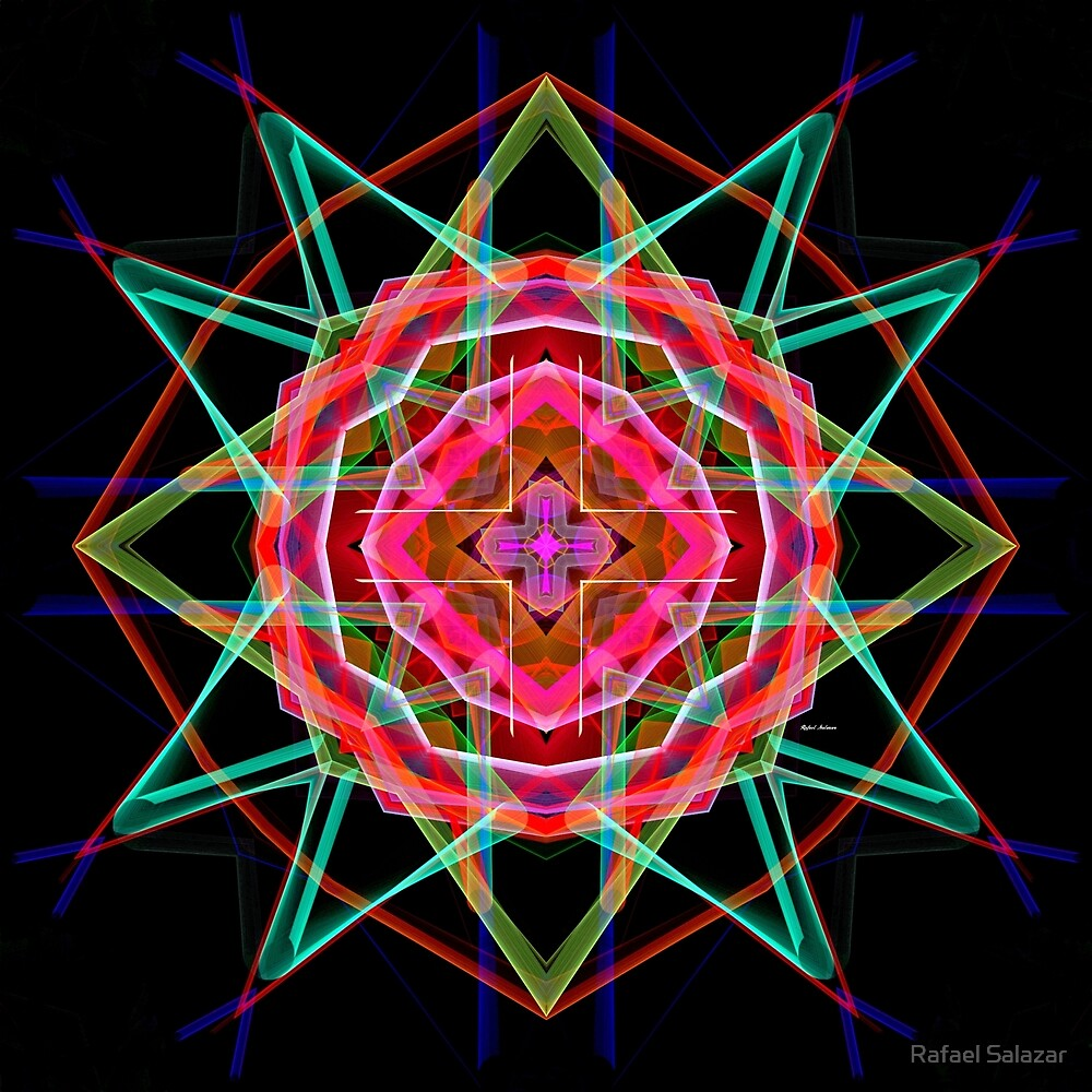 Mandala 3049A by Rafael Salazar