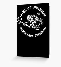 Sons Of Junkion Greeting Card
