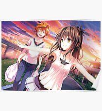 To love Ru - Mikan & Rito Poster