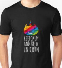Keep Calm And Be A Unicorn Unisex T-Shirt