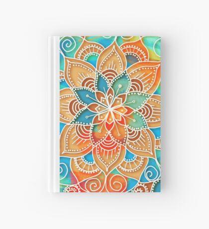 Orient Red Mandala Hardcover Journal