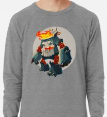 Burning Wood Man Lightweight Sweatshirt