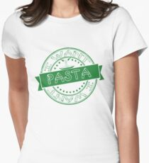 I Want Pasta 003 Womens Fitted T-Shirt