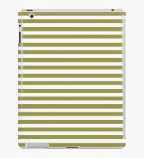 Old Olive - Horizontal Line iPad Case/Skin