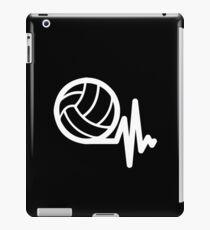 Heartbeat Volleyball Sports Women Players iPad Case/Skin