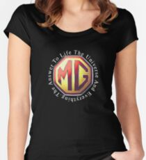 MG Life & The Universe Women's Fitted Scoop T-Shirt