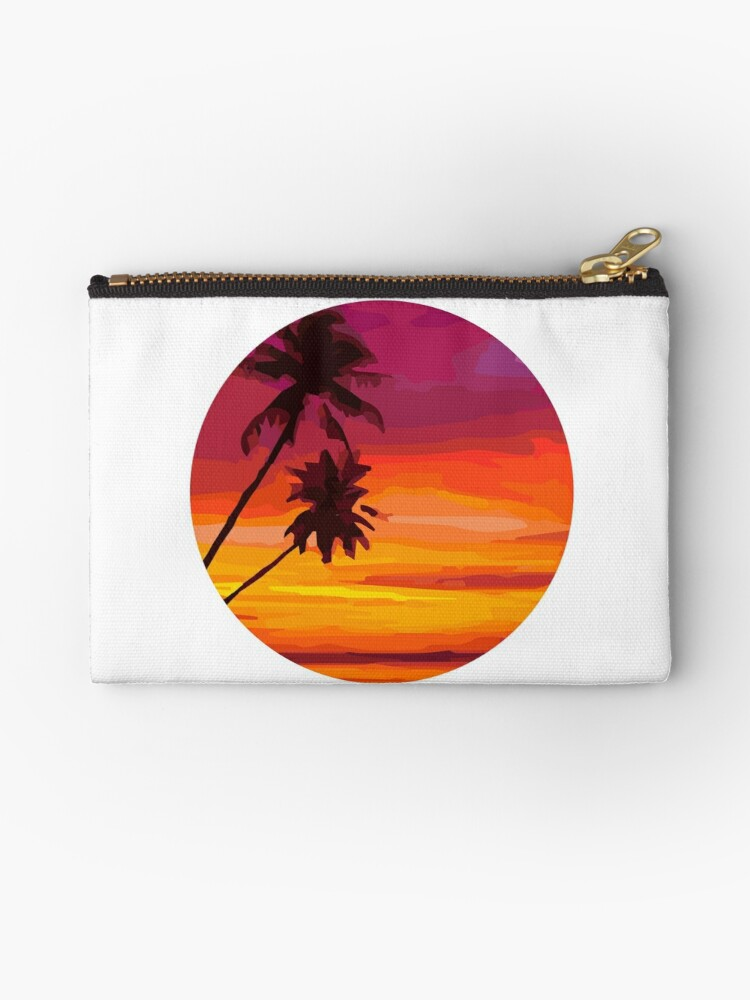 sunset beach by mayomy