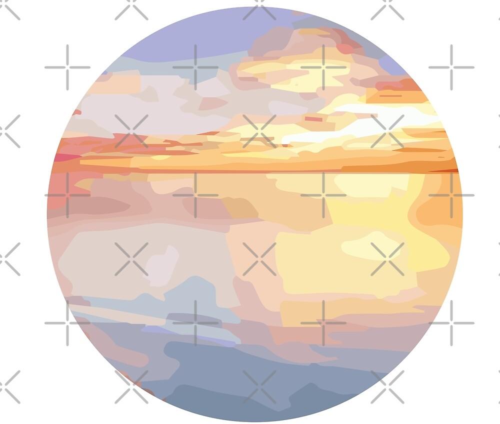 sunset by mayomy
