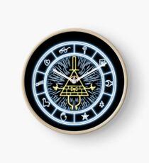 Gravity Falls Bill Cipher Wheel Clock