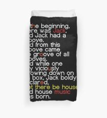Le There Be House! Duvet Cover