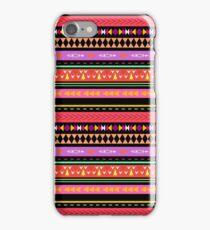 Colorful Boho Tribal Pattern 2 iPhone Case/Skin