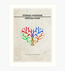 Eternal Sunshine of the Spotless Mind Alternative Minimalist Poster Art Print