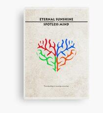 Eternal Sunshine of the Spotless Mind Alternative Minimalist Poster Canvas Print