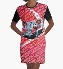 Starsky & Hutch Gran Torino 1975 Graphic T-Shirt Dress