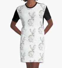 Beware the Jackalope! Graphic T-Shirt Dress
