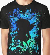 Konata Paint Splatter Inspired Anime Shirt Graphic T-Shirt